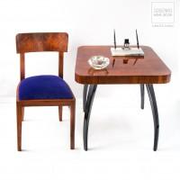 Krzesła Art Deco. 4 szt. Polska Lata 30.