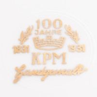 Patera na jubileusz 100-lecia, porcelana sygn. KPM, 1931 r.