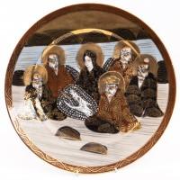 Serwis do herbaty z postaciami z mitologii, chińska porcelana