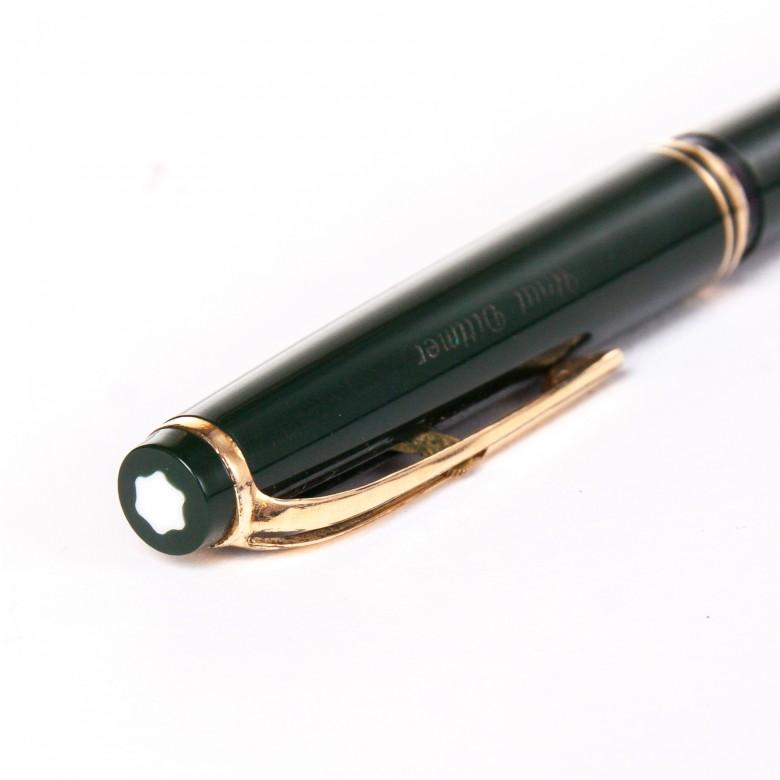 Poważne Długopis MONTBLANC sygnowany znakiem białej śnieżynki_Antyki FM79