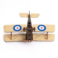 Dwupłatowiec, model samolotu. Plastik. XX w.