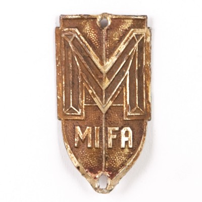 Emblemat rowerowy MIFA.