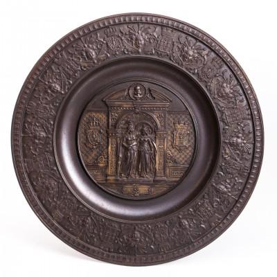 Plakieta pamiątkowa Księstwa Magdeburskiego, 1680-1880