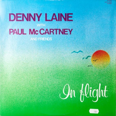 "Album duetu Denny Laine oraz Paul McCartney  pt. ""In flight"". Płyta winylowa.  Węgry, 1984r."