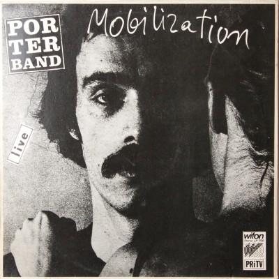 """Album koncertowy zespołu Porter Band pt. """"Mobilization"""". Płyta winylowa.  Polska, 1982 rok."""