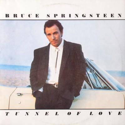 "Album Bruce'a Springsteen'a pt. ""Tunnel of love"". Wydanie polskie. Płyta winylowa. Polska, 1988 rok (oryginał: USA, 1987 rok)"