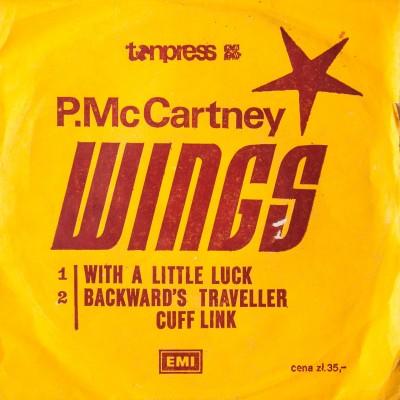 Album z singlami Paula McCartneya oraz zespołu Wings. Płyta winylowa.  Wielka Brytania, 1978 rok.