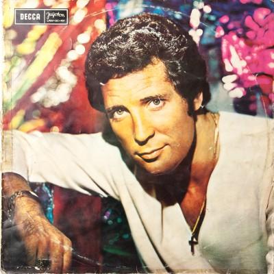 """Album Toma Jones'a pt. """"Tom"""". Płyta winylowa. Wielka Brytania, 1970 rok."""