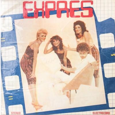 """Album zespołu Trio Express pt. """"2 x 2= 5 (!)"""". Płyta winylowa. Włochy, 1983 rok."""