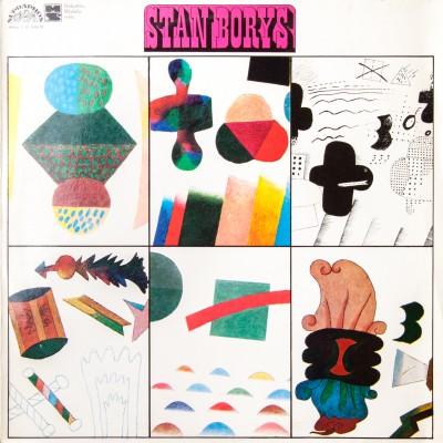 """Album Stana Borysa pt. """"Stan Borys"""". Wydanie czechosłowackie. Płyta winylowa. Czechosłowacja, 1974r."""
