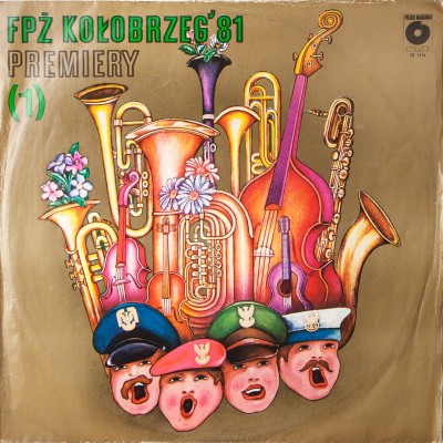 Album z nagraniami z Festiwalu Piosenki Żołnierskiej w Kołobrzegu z roku 1981, Premiery 1. Płyta winylowa. Polska, 1981r.