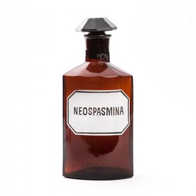 Butelka apteczna na Neospasminę, szkło brunatne, 2,5l