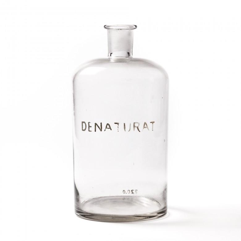 Butelka apteczna na Denaturat, szkło bezbarwne, 3l