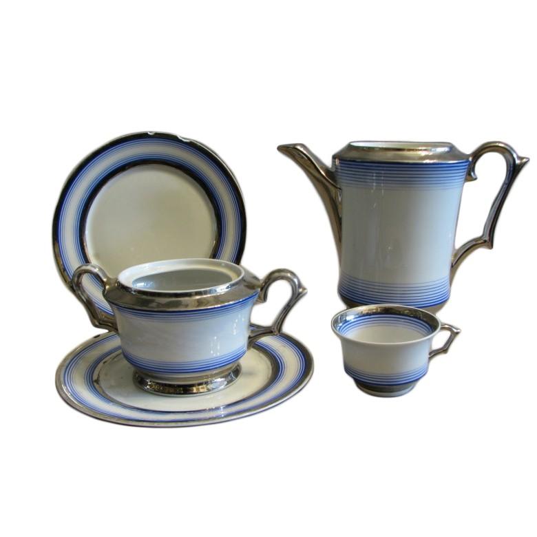 Serwis kawowy Giesche Empire, porcelana, 1928 – 1939, Polska.