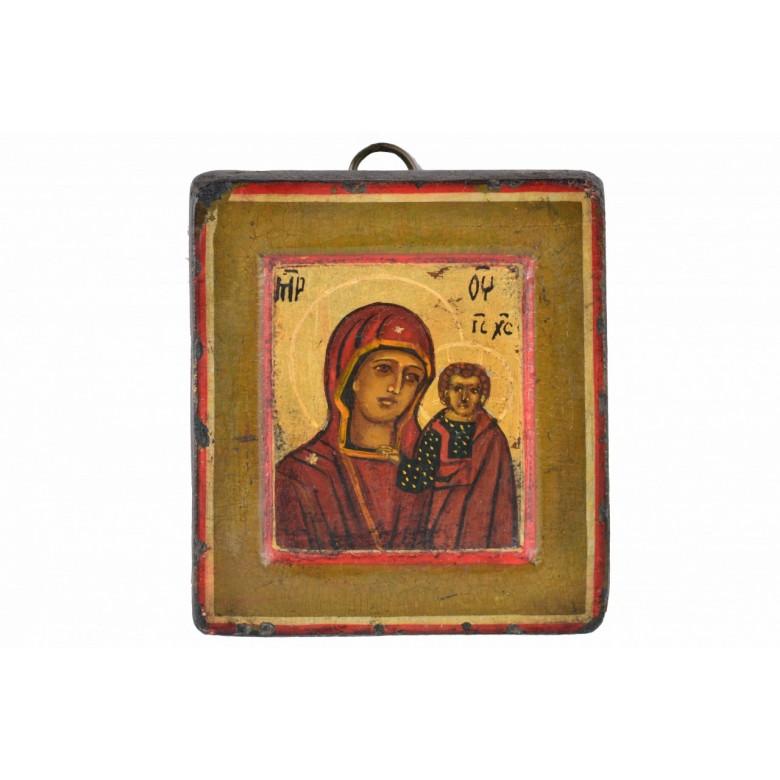 Ikona z wizerunkiem Matki Boskiej z Dzieciątkiem