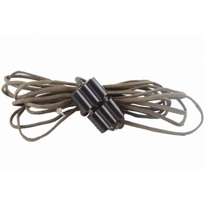 Kabel – przedłużacz – z bakelitowymi wtyczkami.