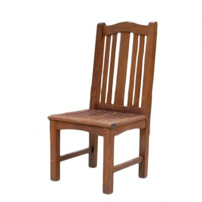 Krzesła mahoniowe marki Barlow Tyrie. USA 2 poł XX w.