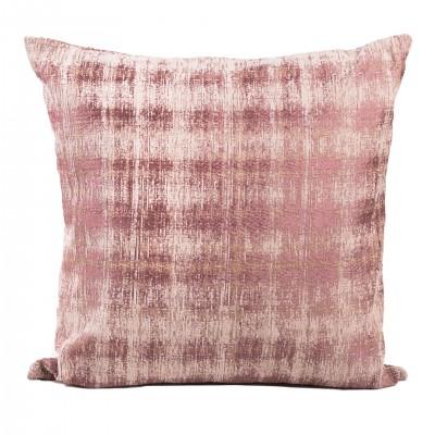 Poduszka dekoracyjna w kolorze pudrowego różu.