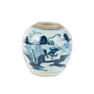 Wczesna waza z chińskiej porcelany. XVIII w.