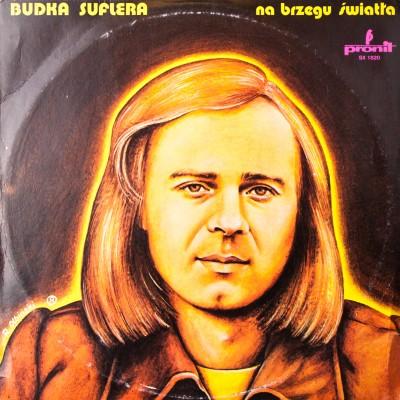 """Album zespołu Budka Suflera pt. """"Na brzegu świata"""". Płyta winylowa. Polska, 1978r."""