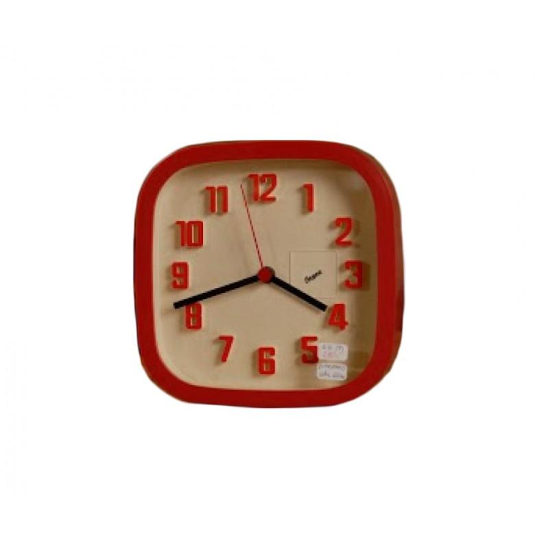 Zegar marki Junghans, oprawa z plastiku, Niemcy, lata 70. XX w.