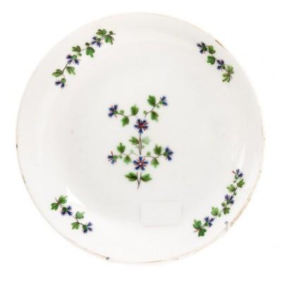 Miseczka w chabry, porcelana Baranówka, Polska